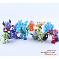 Big Kids big mike - 12pcs Set Monsters Inc Monsters University Mike Sully Mini PVC Action Figure Toys Dolls Boys Toys Gifts cm DSFG063