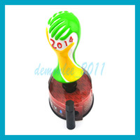 1pc New Universal Cool World Cup Car Gear Shift Knob lever S...