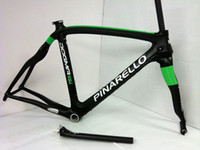 Wholesale New arrival PINARELLO DOGMA65 SKY TEAM GREEN VERSION FULL CARBON BIKE FRAME SET dogm painting ZIPP T FSA SML TIME TREK