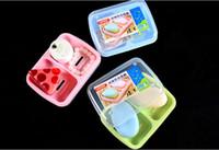 Blue,Pink,Green PP 15*12*4cm Creative Fashion Lidded Waterproof Catamaran Sealed Soap Box