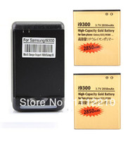 galaxy s battery - 2x mAh Gold Business Battery Wall Charger For Galaxy S3 SIII S III i9300 Batterie