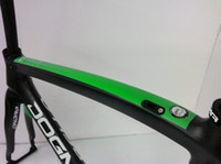 Wholesale PINARELLO DOGMA65 SKY TEAM GREEN VERSION FULL CARBON BIKE FRAME SET dogm painting ZIPP T FSA SML TIME TREK LOOK