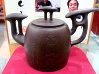 Wholesale Unusual th centuryChinese artYixingTeapot Han meilin developed teapot Y