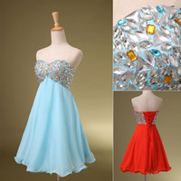 Formal In Stock Cheap Under $100 2014 Dresses Red Sky Blue C...