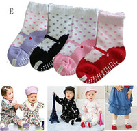 Wholesale 1404L pairs newborns fake footwear styling slip cotton socks