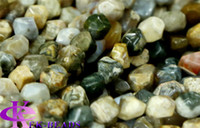 agate cut stone - Discount Natural Genuine Rainbow Ocean Jasper Nugget Loose Beads Hand Cut Free Form mm Fit Jewelry quot