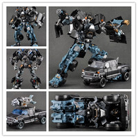 Wholesale New C Domestic Voyager Transformation Robot Ironhide Dark of the Moon Action Figures Boy s Birthday Gift Classic Toy With Original Box
