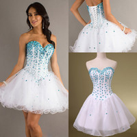 Formal Beach Homecoming White In Stock Cheap Under $100 2014...