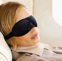 Wholesale Travel Sleep Rest Eye Shade Sleeping Mask Cover Aid Blinder Sponge High Quality hot sale