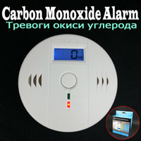 sensor - Fedex DHL to USA Independent Working Sensor Carbon Monoxide Gas Sensor CO Detector Alarm with LCD Display V AA Battery Power