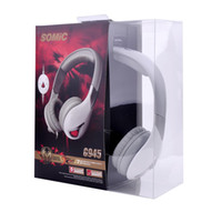 Wholesale Somic Earphone G945 surround sound effect gaming headset computer USB earphone with microphone p