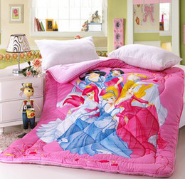 Wholesale Children Girls Boys Princess Mose Many Patterns Cartroon Printed Winter Thicken Quilt Thermal Bedding Quilts Kids Comforter B3437