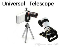 Universal   new 8x Zoom Optical Lens Universal Telephone Telescope Camera For Mobile Phone Android Phone With Tripod + Holder