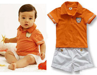 Cheap Boy children clothing Best Summer Short lapel shirts