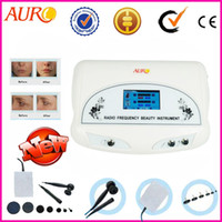 Wholesale Christmas promotion portable rf anti aging radio wave facial beauty equipment for Salon Use CE approval AU E