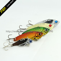 Wholesale Metal rattle VIBES lures hard lures unpainted vib Blade bait