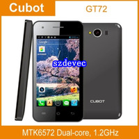 Cubot Dual SIM GSM850 SZDEVEC Unlocked Phone, Cubot GT72 MTK6572M Dual Core 4.0 inch LCD screen GPS WIFI 2.0MP 512M Cheap Android Cell Phones with GPS
