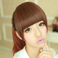 Wholesale New Style Womens Girls Sexy and Sweet Fashion Bang WIG Commended section JF183