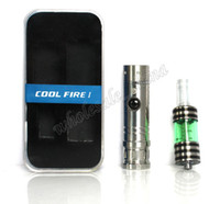 Single Stainless steel  Metal Special Design Innokin Cool Fire Unique 1 Coolfire 1 Starter Kit Electronic Cigarette Innokin Cool Fire with Iclear 30B Atomizer