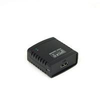 1 Port Multi Functional  Network USB 2.0 LPR Print Server Hub Adapter Ethernet LAN Networking Share 10 100Mbps RJ45 Hot Sale