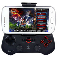 Wholesale Pipeage PG S Gaming Bluetooth Controller For iPhone iPad Samsung HTC Moto Android Tablet Gamepad Joystick PS3 Black New D5111A