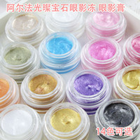 Wholesale Love Alpha Bright Eyeshadow Shiny Eye Color Frozen PALETTE eyeshadow Makeup Cosmetic Palette Eye Shadow Palette Colors To Choose