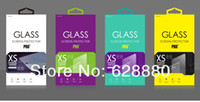 Paper apparel packaging design - Personality Design Tempered Glass Screen protector Retail Package box for Cell phone moq DHL FEDEX