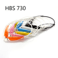 Wholesale Hot selling Colorful HBS Wireless Bluetooth Stereo Headset Earphone Music Sport Neckband TONE for Cellphones iPhone LG Samsung Free DHL