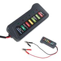 Wholesale Tirol V Digital Battery Alternator Tester with LED Lights Display