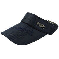 Wholesale new fashion baseball hat and summer traveling sun shading men hat sunbonnet tennis cap cap without top empty top hat outdoor
