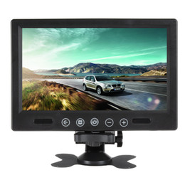 Wholesale 9 Inch Remote Control Dashboard Car Monitor TV Rearview Reverse Video Input TFT LCD Color Screen CMO_309