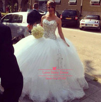 2014 Sexy Sweetheart Shinning Crystals Rhinestones Ball Gown...