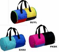 Wholesale Swimming Beach Bag Waterproof Handbag Sport Gym Swim Dance Duffle Canvas Casual Bag Colors