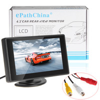 Cheap LCD Monitor car mirror monitor Best ML_CMO_363 Digital TFT LCD Car Rear-view Monitor car rearview mirror