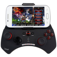Wholesale Ipega PG Gaming Bluetooth Controller Gamepad Joystick For iPhone iPad Samsung HTC Moto Android Tablet Black White D5112