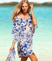 Cheap 2014 Summer European Elastic Fabric Beach Dress Beachwear Swimwear Women Holiday Dress Swim Cover Up Wrap Clothes Wholesale Free Shipping