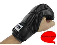 Wholesale Hot Sale Free Size colors Half Finger Boxing Gloves Sanda Fighting Sandbag Gloves