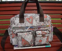 Wholesale space Mummy bag Waterproof Portable Mama bag Multifunction Pregnant women Diaper Nappy Baby bag D