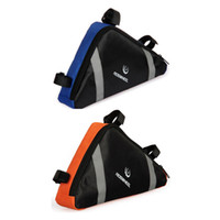 Front Tube Bags bicycle head tubes - Cycling Bicycle Bike Bag Front Frame Head Pipe Triangle Bag Pouch for outdoor sport H8283