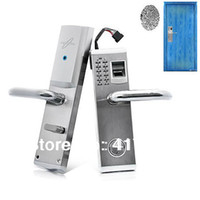 Yes CGL902R  DHL Freeshipping Biometric Fingerprint and Password Door Lock, access control, Finger Lock with Deadbolt -Right Handed