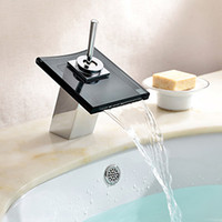 Wholesale 1pcs Modern Single Handler Waterfall Vessel Sink Faucet For Bathroom Mixer Tap