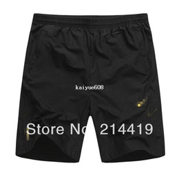 Wholesale new summer men casual sports running shorts black