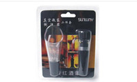 Wholesale HOT WINE ACCESSORIES GIFT SET VACUUM STOPPER AND WINE POURER WITH CHEAP PRICE