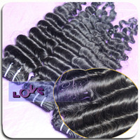 Wholesale Malaysian Virgin Hair Weave Water Wave A Unprocessed Wet And Wavy Malaysian Human Hair Extensions Double Sewing