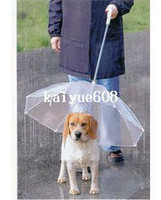 Wholesale Hot pet dog protective rain umbrella fashion sunny umbrella have a tring for walk the dog