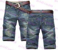 Wholesale New Arrival Hot Men s Jeans Shorts Mens Shorts Jeans Fashion Brand Denim Jeans Shorts Pants Men Hot Sale Large Size Jeans Shorts