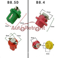Wholesale B8 B8 D SMD LED lights Cluster Gauges Dashboard Instrument lamp Dashboard Indicator Lights V DC