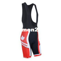 Men Jerseys Cycling 2014 New Cycling Shorts Hot Sale Team BIB Short Pants Sports canada flag style Bike Racing Running Man Size S-3XL FREE SHIPPING