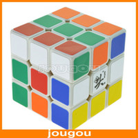 Wholesale 100 Good DaYan V5 ZhanChi White Black x3x3 Three Layer Speed Puzzle mm