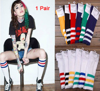 Christmas Socks Men HI-Q multicolor cotton AA American Apparel three cross stripe thicken HUF plantlife skateboarding socks 1 pair